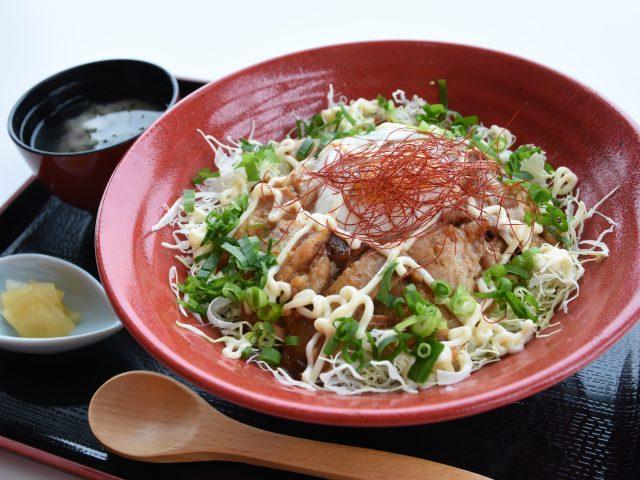 レストラン新メニュー「とろっとチャーシュー丼」