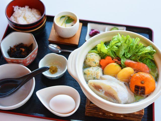 みかん鍋定食